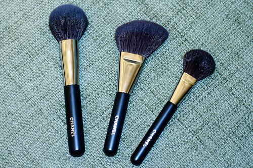 Chanel brushes